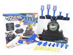 2in1 B/O Soft Bullet Gun Set toys