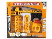 Wire Control Construction Car