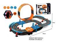 1:43 Wire Control Railcar Set