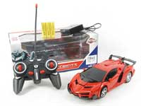1:18 R/C Transforms Car 4Ways W/L_Charge(2C)