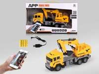 R/C Construction Truck 4Ways W/L_Charge