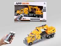 R/C Construction Truck 4Ways W/L