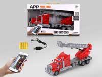 R/C Fire Engine 4Ways W/L_Charge