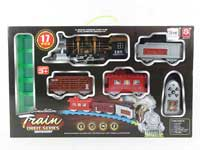 R/C Smoking Train Set W/L_M