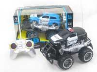 R/C Cross-country Police Car 4Ways W/L(2C)