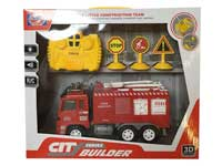 R/C Fire Engine Car 2Ways W/L_M