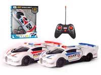 1:16 R/C Police Car 4Ways W/L