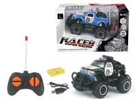 R/C Cross-country Police Car 4Ways W/L_Charge(2C)
