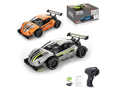 2.4G 1:16 R/C Mteal Car 4Ways W/Charger(2C)