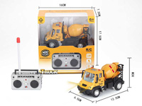 1:64 R/C Construction Truck 4Ways W/L