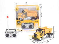 1:64 R/C Construction Truck 4Ways W/L