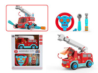 2.4G R/C Diy Fire Engine Car 2Ways