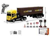 2.4G 1:16 R/C Container Truck 4Ways W/Charge