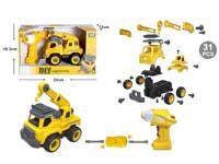 R/C Diy Construction Truck W/S_IC