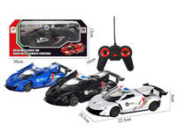 R/C Police Car 5Ways(3C) toys