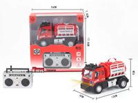 1:64 R/C Fire Engine 4Ways W/L