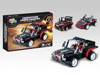 Small bricks car set radio control 4Ways good gift for kids