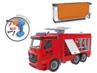 2.4G R/C Diy Fire Engine 4Ways