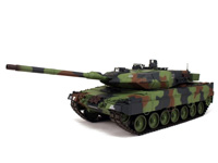 2.4G 1:16 Upgrade German Leopard 2 A6 R/C Main Battle Tank toys
