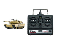 2.4G 1:16 Upgrade U.S.A M1A2 Abrams R/C Main Battle Tank toys