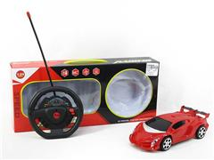 1:24 R/C Car 4Ways(2C) toys