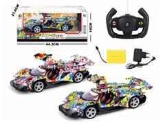 1:14 R/C Car 5Ways W/L_Charge toys