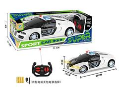 1:14 R/C Police Car 4Way W/L_Charge(2C)