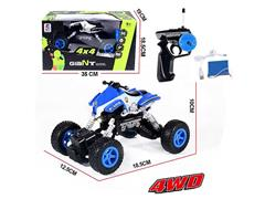 1:16 R/C 4Wd Motorcycle 4Ways W/L_Charge(2C) toys
