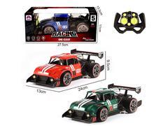 2.4G 1:16 Die Cast Racing Car 5Ways R/C W/L(3C) toys