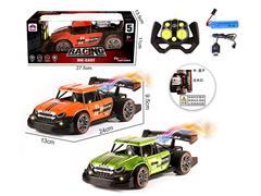 2.4G 1:16 Die Cast Spray Racing Car 6Ways R/C W/L_Charge(3C) toys