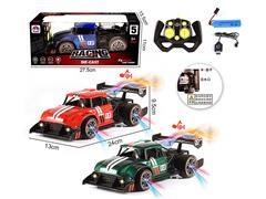 2.4G 1:16 Die Cast Spray Racing Car 6Ways R/C W/L_M_Charge(3C) toys