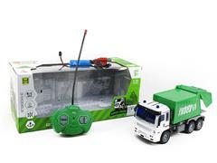 1:30 R/C Sanitation Truck 4Ways W/L_Charge