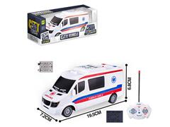 1:32 R/C Ambulance 4Ways W/L toys
