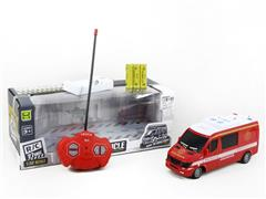 1:32 R/C Fire Engine 4Ways W/L_Charge