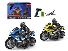 2.4G 1:10 R/C Motorcycle 4Ways W/Charge(2C)