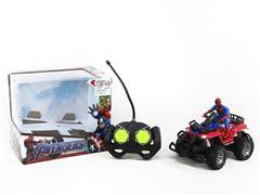 1:43 R/C Motorcycle 4Ways W/L toys