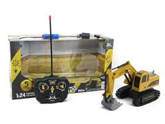 1:24 R/C Construction Truck 5Ways W/L_Charge toys