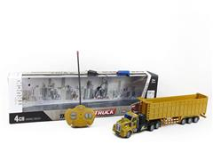 1:48 R/C Construction Truck 4Ways W/L_Charge toys