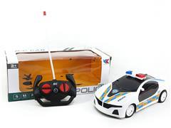 1:18 R/C Police Car 4Ways W/L(2C) toys