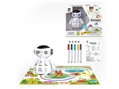 Induction Discoloration Robot toys