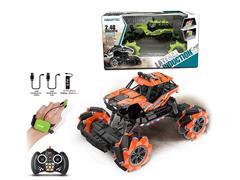 2.4G 1:16 R/C Stunt Car W/L_M_Charge toys