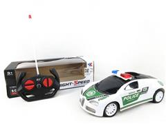 1:18 R/C Police Car 4Ways(2C) toys