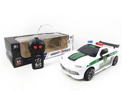 1:18 R/C Police Car 2Ways W/L toys