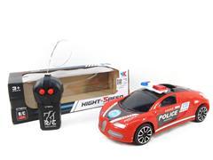1:18 R/C Police Car 2Ways W/L(2C) toys