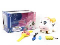 R/C Spray Cow W/Charge toys