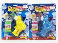 B/O Bubbles Gun W/M(2C)
