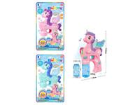 B/O Bubble Unicorn W/L_M(2C) toys