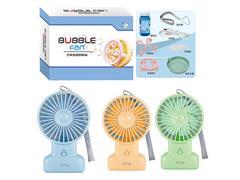 B/O Fan Bubble Machine(3C) toys