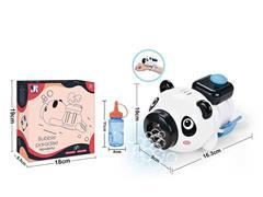 B/O Bubble Panda W/L_M toys