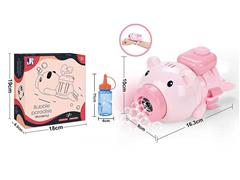 B/O Bubble Flying Pig W/L_M toys